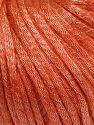 Fiberinnehåll 67% Tencel, 33% Polyamid, Salmon, Brand Ice Yarns, fnt2-66197