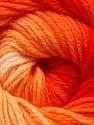 Fiber Content 100% Acrylic, Yellow, Red, Orange, Brand ICE, Yarn Thickness 3 Light  DK, Light, Worsted, fnt2-22020
