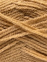 Fiber Content 100% Acrylic, Light Brown, Brand ICE, Yarn Thickness 3 Light  DK, Light, Worsted, fnt2-22408