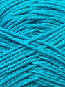 Fiber Content 100% Mercerised Cotton, Turquoise, Brand ICE, Yarn Thickness 2 Fine  Sport, Baby, fnt2-23338
