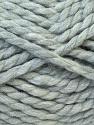 SuperBulky  Fiber Content 55% Acrylic, 45% Wool, Light Grey, Brand ICE, Yarn Thickness 6 SuperBulky  Bulky, Roving, fnt2-24938