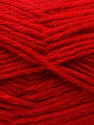 Fiber Content 70% Dralon, 30% Alpaca, Red, Brand ICE, Yarn Thickness 4 Medium  Worsted, Afghan, Aran, fnt2-25377