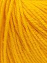 Fiber Content 40% Merino Wool, 40% Acrylic, 20% Polyamide, Yellow, Brand ICE, Yarn Thickness 2 Fine  Sport, Baby, fnt2-26127