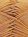 Fiber Content 100% Mercerised Cotton, Light Brown, Brand ICE, Yarn Thickness 2 Fine  Sport, Baby, fnt2-32537