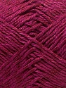 Fiber Content 50% Cotton, 50% Polyester, Brand ICE, Burgundy, Yarn Thickness 2 Fine  Sport, Baby, fnt2-33043