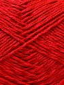 Fiber Content 50% Cotton, 50% Polyester, Red, Brand ICE, Yarn Thickness 2 Fine  Sport, Baby, fnt2-33044