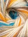 Fiber Content 100% Premium Acrylic, Yellow, White, Brand ICE, Camel, Blue, Yarn Thickness 3 Light  DK, Light, Worsted, fnt2-33397