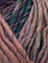 Fiber Content 60% Wool, 40% Acrylic, Purple, Light Pink, Brand ICE, Green, Blue, Black, Yarn Thickness 4 Medium  Worsted, Afghan, Aran, fnt2-34607