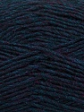 Fiber Content 50% Wool, 50% Acrylic, Navy Melange, Brand ICE, Yarn Thickness 3 Light  DK, Light, Worsted, fnt2-35028