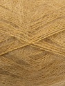 Fiber Content 70% Mohair, 30% Acrylic, Light Brown, Brand ICE, Yarn Thickness 3 Light  DK, Light, Worsted, fnt2-35048