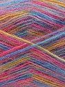 Fiber Content 70% Angora, 30% Acrylic, Pink, Brand ICE, Gold, Blue, Yarn Thickness 2 Fine  Sport, Baby, fnt2-35091