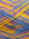 Fiber Content 70% Angora, 30% Acrylic, Yellow, Pink, Brand ICE, Blue, Yarn Thickness 2 Fine  Sport, Baby, fnt2-35092