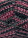 Fiber Content 70% Angora, 30% Acrylic, Pink Shades, Brand ICE, Grey, Black, Yarn Thickness 2 Fine  Sport, Baby, fnt2-35097