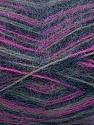 Fiber Content 70% Angora, 30% Acrylic, Purple, Navy, Brand ICE, Grey, Yarn Thickness 2 Fine  Sport, Baby, fnt2-35098