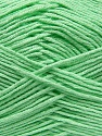 Fiber Content 100% Antibacterial Dralon, Mint Green, Brand ICE, Yarn Thickness 2 Fine  Sport, Baby, fnt2-35234