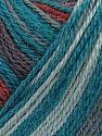 Fiber Content 40% Acrylic, 35% Wool, 25% Alpaca, Teal, Brand ICE, Grey, Copper, Yarn Thickness 2 Fine  Sport, Baby, fnt2-36989