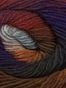 Fiber Content 50% Wool, 50% Acrylic, Purple, Brand ICE, Grey Shades, Brown Shades, Yarn Thickness 2 Fine  Sport, Baby, fnt2-40630