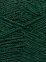Περιεχόμενο ίνας 100% Παρθένο μαλλί, Brand Ice Yarns, Dark Green, Yarn Thickness 3 Light  DK, Light, Worsted, fnt2-42312