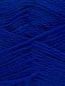 Περιεχόμενο ίνας 100% Παρθένο μαλλί, Brand Ice Yarns, Bright Blue, Yarn Thickness 3 Light  DK, Light, Worsted, fnt2-42316