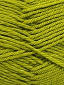 Fiber Content 50% Acrylic, 50% Polyamide, Brand ICE, Green, Yarn Thickness 3 Light  DK, Light, Worsted, fnt2-42382