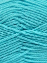 Fiber Content 50% Acrylic, 50% Polyamide, Light Turquoise, Brand ICE, Yarn Thickness 3 Light  DK, Light, Worsted, fnt2-42384