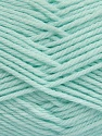 Fiber Content 50% Acrylic, 50% Polyamide, Light Mint Green, Brand ICE, Yarn Thickness 3 Light  DK, Light, Worsted, fnt2-42385