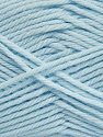 Fiber Content 50% Acrylic, 50% Polyamide, Brand ICE, Baby Blue, Yarn Thickness 3 Light  DK, Light, Worsted, fnt2-42386