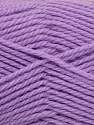 Fiber Content 50% Acrylic, 30% Wool, 20% Polyamide, Lilac, Brand ICE, Yarn Thickness 2 Fine  Sport, Baby, fnt2-42430