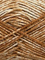 Strong pure cotton yarn in beautiful colours, reminiscent of bleached denim. Machine washable and dryable. Fiber Content 100% Cotton, White, Light Brown, Brand ICE, Yarn Thickness 3 Light  DK, Light, Worsted, fnt2-42558