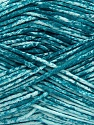 Strong pure cotton yarn in beautiful colours, reminiscent of bleached denim. Machine washable and dryable. Fiber Content 100% Cotton, White, Teal, Brand ICE, Yarn Thickness 3 Light  DK, Light, Worsted, fnt2-42575