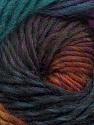 Fiber Content 100% Wool, Teal, Purple, Brand ICE, Brown, Black, Yarn Thickness 4 Medium  Worsted, Afghan, Aran, fnt2-43064