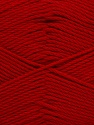 Fiber Content 50% Bamboo, 50% Viscose, Red, Brand ICE, Yarn Thickness 2 Fine  Sport, Baby, fnt2-43138