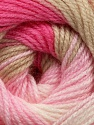 Fiber Content 100% Acrylic, Pink Shades, Brand ICE, Beige, Yarn Thickness 3 Light  DK, Light, Worsted, fnt2-44707
