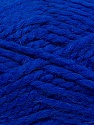 SuperBulky  Fiber Content 60% Acrylic, 30% Alpaca, 10% Wool, Royal Blue, Brand ICE, Yarn Thickness 6 SuperBulky  Bulky, Roving, fnt2-45162