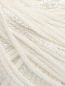 Fiber Content 79% Cotton, 21% Viscose, White, Brand Ice Yarns, Yarn Thickness 3 Light  DK, Light, Worsted, fnt2-45186