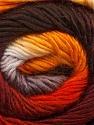 Fiber Content 50% Acrylic, 50% Wool, Orange, Brand ICE, Grey, Gold, Brown, Yarn Thickness 2 Fine  Sport, Baby, fnt2-45315