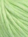 Fiber Content 50% Merino Wool, 25% Acrylic, 25% Alpaca, Light Green, Brand ICE, Yarn Thickness 6 SuperBulky  Bulky, Roving, fnt2-48099