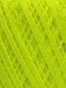Fiber Content 60% Polyamide, 40% Viscose, Neon Green, Brand ICE, Yarn Thickness 2 Fine  Sport, Baby, fnt2-48389