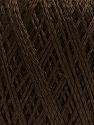 Fiber Content 60% Polyamide, 40% Viscose, Brand ICE, Dark Brown, Yarn Thickness 2 Fine  Sport, Baby, fnt2-48396